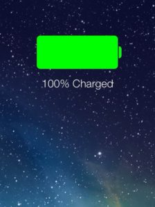 cuidar la bateria