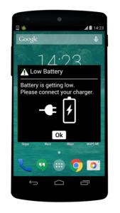 calibrar batería nexus