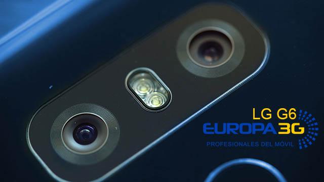 Reparar Cristal Camara LG G6