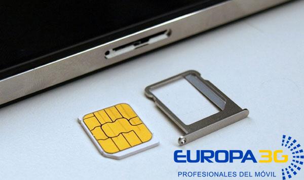 Tarjeta SIM Atascada iPhone