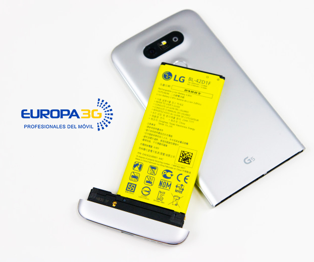 Cambiar Bateria LG Madrid