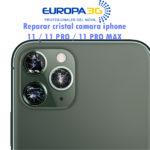 Cambiar Cristal Camara iphone 11