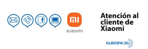 Atención al cliente de Xiaomi
